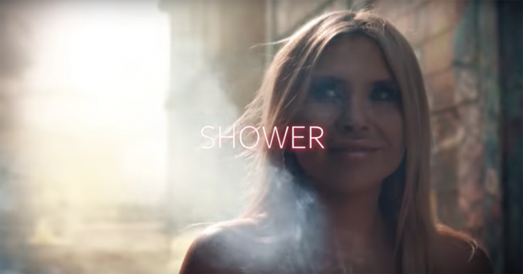 """Shower"" video still"