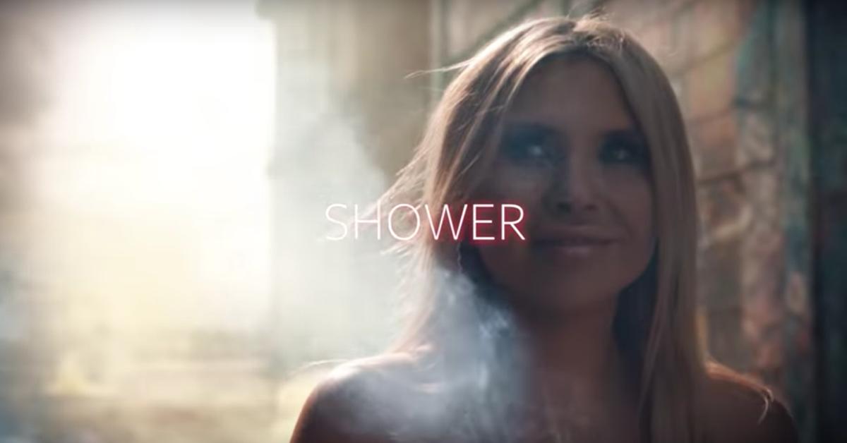 """""""Shower"""" video still"""